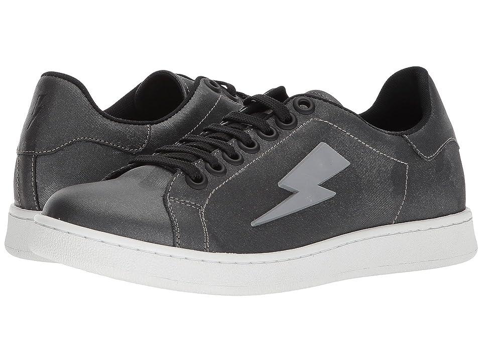 Neil Barrett Thunderbolt Tennis Sneaker (Anthracite) Men