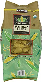 Kirkland Signature Organic Tortilla Chips, 40 Ounce