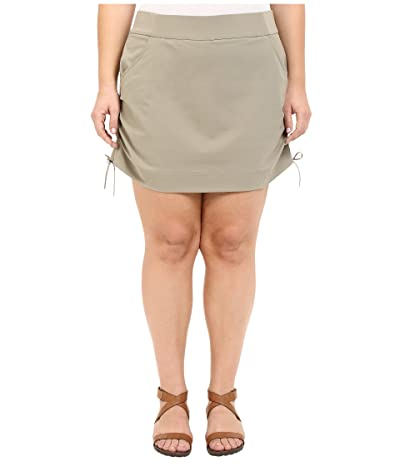 Columbia Plus Size Anytime Casualtm Skort (Tusk) Women