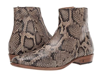 John Varvatos Collection Lewis Slant Zip Boot (Desert) Men