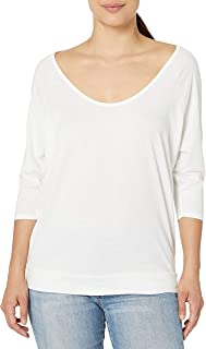 Alternative Women's Cotton Modal Jersey Boxy Raglan Tee