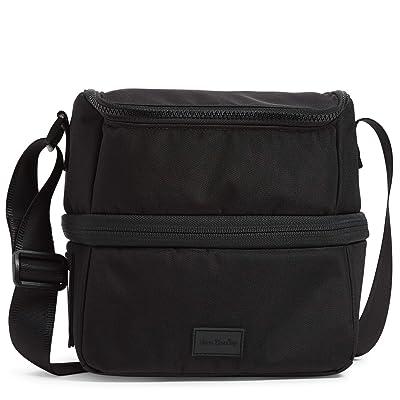 Vera Bradley ReActive Expandable Lunch Cooler (Black) Handbags