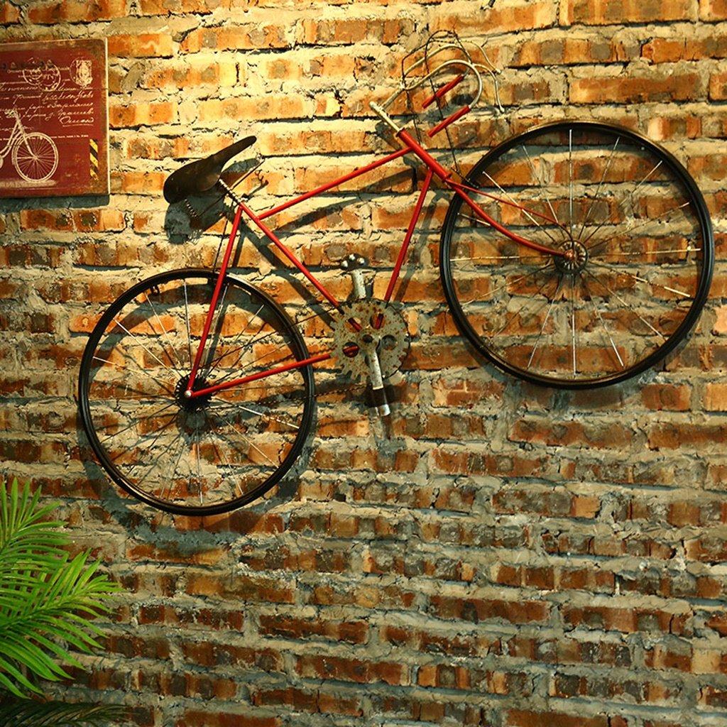 Decoración de pared MMM Retro de Hierro Bicicleta Pared Colgante ...