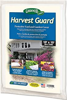 Dalen GF1015 Grass Fast 10-Foot by 15-Foot Lawn Seeding Cover, White