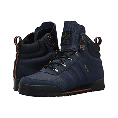 adidas Skateboarding Jake Boot 2.0 (Collegiate Navy/Core Black Leather) Men