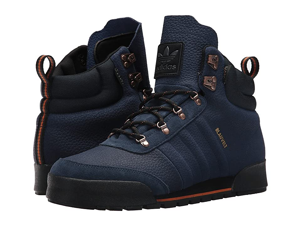 adidas Skateboarding Jake Boot 2.0 (Collegiate Navy/Core Black Leather) Men