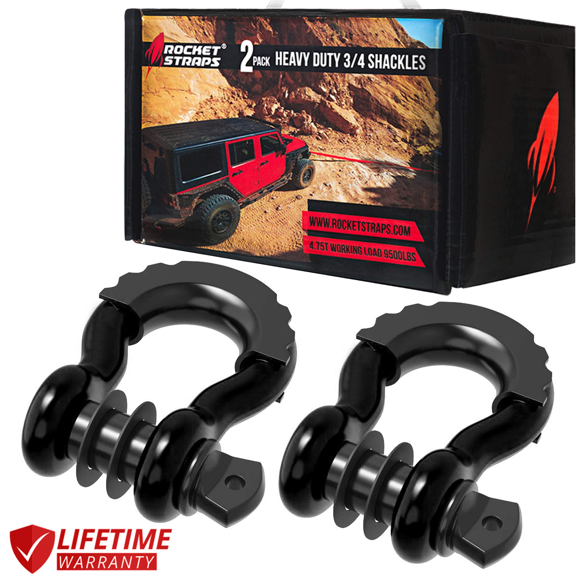 Rocket Straps Shackles Capacity Accessories