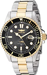 Men's Pro Diver Quartz Watch with Stainless Steel Strap,...