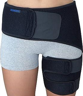 Hip Brace - Sciatica Pain Relief Brace - Groin Compression Wrap for Thigh Hamstring Hip Arthritis Bursitis - Hip Flexor Br...