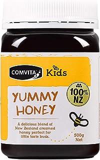 Comvita Kids Yummy Honey I New Zealand's #1 Manuka Brand I Authentic, Wild, Unpasteurized, Non-GMO Superfood for Daily Wel...