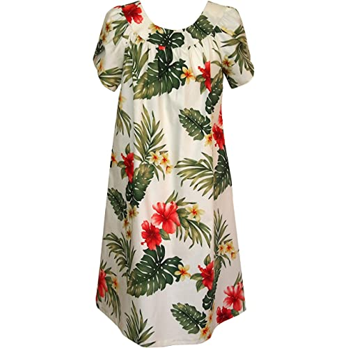 8e85a0a0a2913 RJC Women s Tropical Summer Hibiscus Muumuu Dress