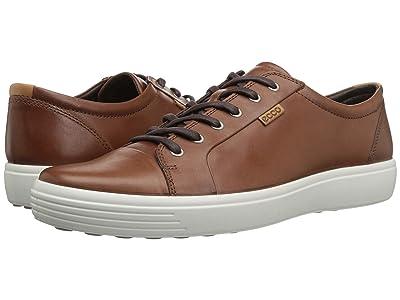 ECCO Soft 7 Sneaker (Mahogany) Men