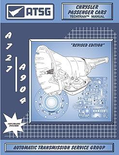 ATSG A727 / 904 Chrysler Manual de reparo de transmissão (A727 Transmissão - Kit de reconstrução de transmissão A727 - Mel...