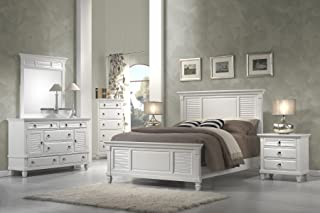 Amazon.com: White - Bedroom Sets / Bedroom Furniture: Home & Kitchen