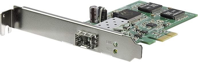 StarTech.com PCI Express Gigabit Ethernet Fiber Network Card w/Open SFP - PCIe GbE SFP Network Card Adapter NIC - Fiber Optic SFP Adapter (PEX1000SFP2)