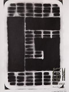 Letra G ABC Hort por Fabio De Minicis - Lienzo original 1/7-50 x 70 cm.