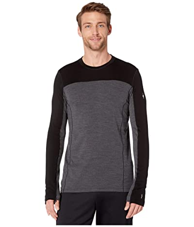 Smartwool Merino Sport 250 Long Sleeve Crew (Black) Men