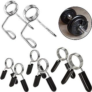 comprar comparacion C.P. Sports - Par de cierres de muelle para barras de pesas, 25 mm, 28 mm, 30 mm, 50 mm de diámetro