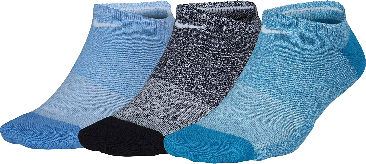 Nike Performance Cushioned No 4 years warranty Show Socks Training New color 3-Pair Pack