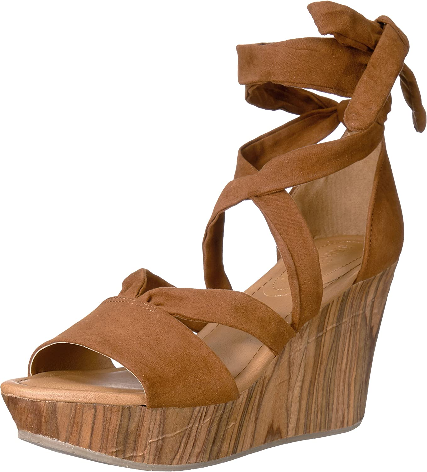 Kenneth Cole REACTION Womens Sole Rise Wedge Sandal