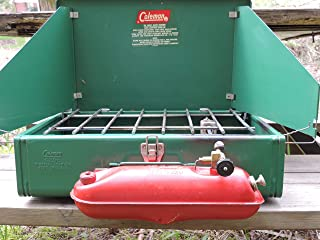 Vintage Coleman Camp Stove Mid Century Coleman 425E Folding Camping Stove Camping Equipment Display Movie Prop