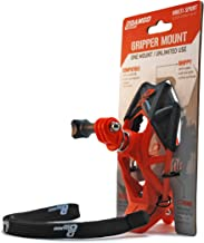 Dango Design Gripper Mount - Universal Clamp Mount for GoPro and Cameras - Orange with Adapter Pack