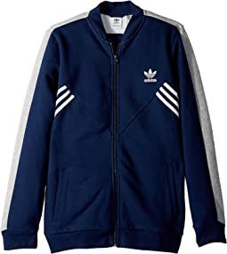 adidas Originals Kids - Zigzag Track Jacket (Little Kids/Big Kids)