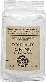 India Tree Fondant and Icing Sugar, 12 oz (Pack of 4)