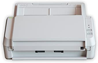 Fujitsu ScanZen CG01000-289101 Eko Color Duplex Personal Document Scanner, 20ppm, Twain Compatible, Light gray