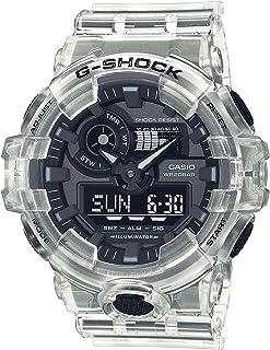 CASIO G-Shock Resin Band Analog Digital Watch for Women - Clear