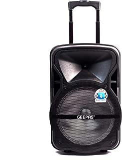 Geepas Portable & Rechargeable Professional Speaker System GMS8568
