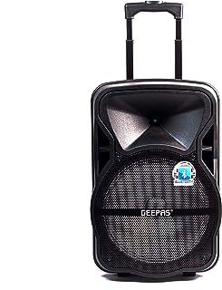 مكبر صوت احترافي محمول وقابل للشحن من جيباس، موديل GMS8568