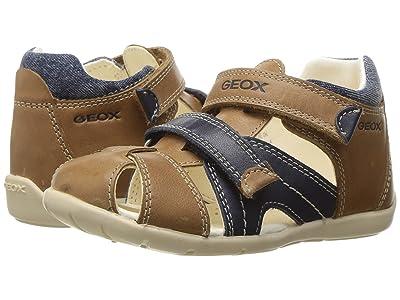 Details about Geox Kids Baby Boy's Baby New Balu Boy (InfantToddler) CaramelNavy Shoe