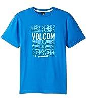 Volcom Kids - Copy Cut Short Sleeve Tee (Big Kids)