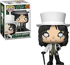 Alice Cooper: Funko POP! Rocks Vinyl Figure & 1 POP! Compatible PET Plastic Graphical Protector Bundle [#068 / 30206 - B]