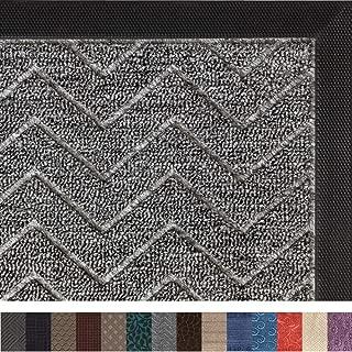 Gorilla Grip Original Durable Rubber Door Mat, 29×17, Heavy Duty Doormat, Indoor..