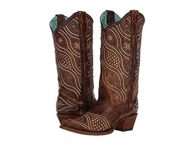 Corral Boots E1274 (Brown) Cowboy Boots