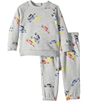 Stella McCartney Kids - Billy + Loopie Car Printed Fleece Set (Infant)