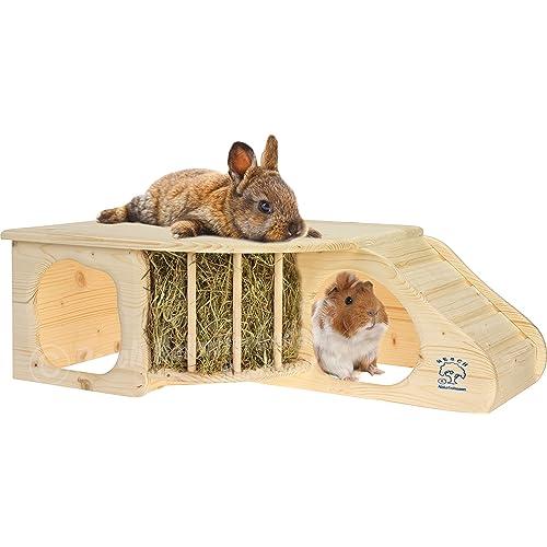 Resch N.º 11 Cueva para roedores XL / Madera maciza de picea sin tratar