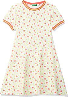 United Colors of Benetton Cotton Fit and Flare Casual Dress