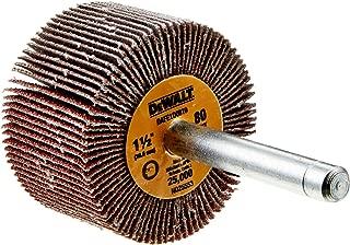 DEWALT DAFE1B1210 1-Inch by 1-Inch by 1//4-Inch HP 120g Flap Wheel