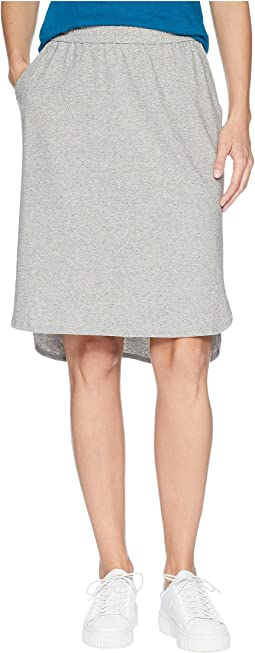 Organic Cotton Speckled Knit Simple Skirt