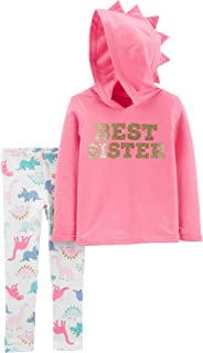 Carter's Baby Girls' 2-Piece Valentine's Day Top & Pant Set