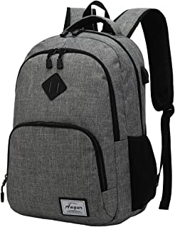 Travel Laptop Backpack with USB Charging Port Lightweight College School Bookbag