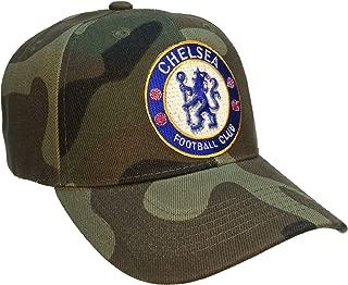 Chelsea FC Football Club Hat Camo Soccer Ball Cap Football Club