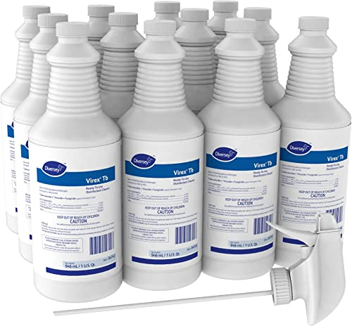 Virex Tb Hospital-Grade Disinfectant (32-Ounce, 12-Pack) (DVO 04743)