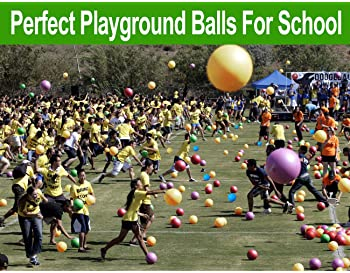ToysOpoly Premium Playground Balls 8.5 inch, Best Kickball Dodgeball for Kids and Adults - Official Size for Dodge Ba...