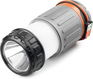 WAGAN #Camplites Rechargeable USB LED Lantern Flashlight 3 Lighting Options High/Low/SOS for Camping, Hiking, Emergencies, Power Outage