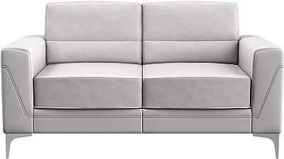 Global Furniture USA Light Grey Loveseat Love Seats, Gray