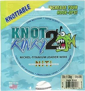 titanium wire leader knots